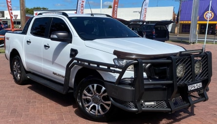 2017 Ford Ranger Wildtrak Utility Double Cab