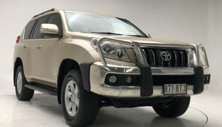 2011  Toyota Landcruiser Prado Gxl Wagon