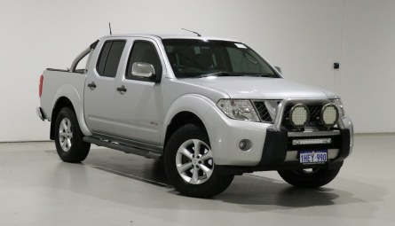 2012 Nissan Navara ST-X Utility Dual Cab
