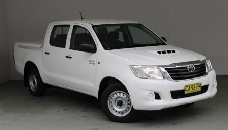 2015  Toyota Hilux Sr Utility Double Cab