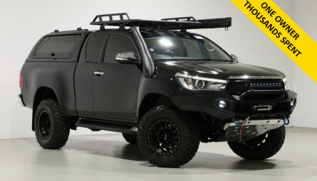 2015 Toyota Hilux SR5 Utility Extra Cab