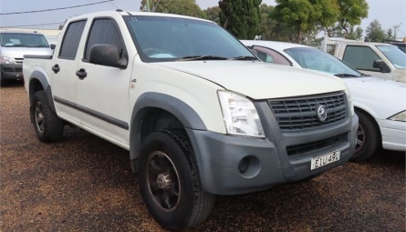 2006  Holden Rodeo Lx Utility Crew Cab