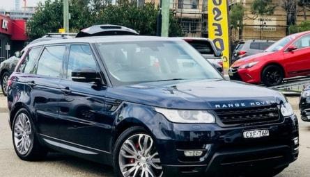 2014  Land Rover Range Rover Sport V8sc Hse Dynamic Wagon