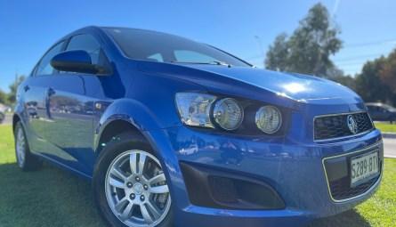 2014  Holden Barina Cd Sedan
