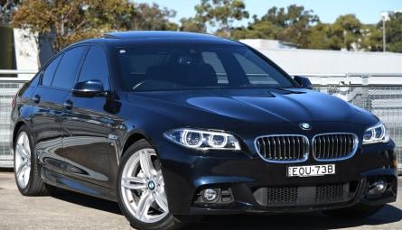 2016  BMW 5 Series 535d M Sport Sedan