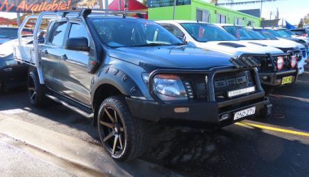 2013  Ford Ranger Xl Cab Chassis Double Cab