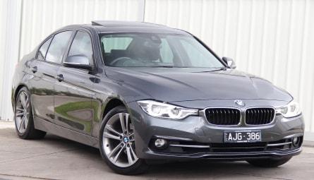 2016  BMW 3 Series 320i Sport Line Sedan