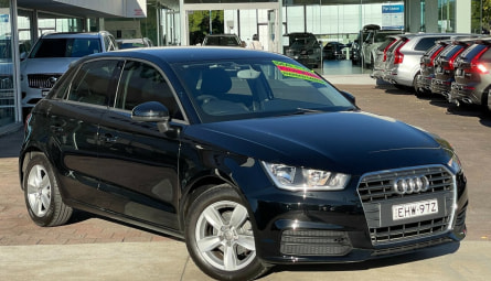 2016 Audi A1Sportback