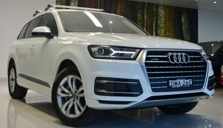 2016  Audi Q7 Tdi Wagon