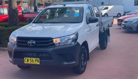 2020  Toyota Hilux Workmate Cab Chassis Single Cab