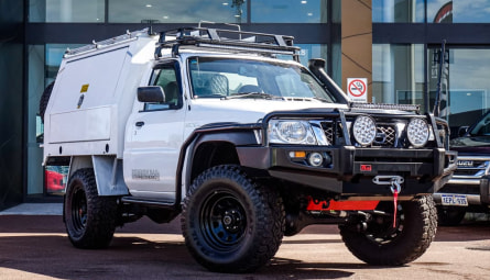 2013 Nissan Patrol DX Cab Chassis Single Cab