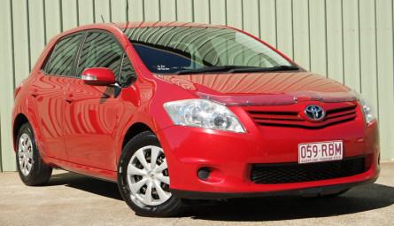 2009  Toyota Corolla Ascent Sedan