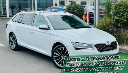 2018 Skoda Superb 140TDI Wagon