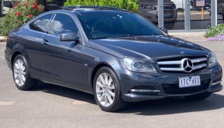 2012 Mercedes-Benz C-Class C180 BlueEFFICIENCY Coupe