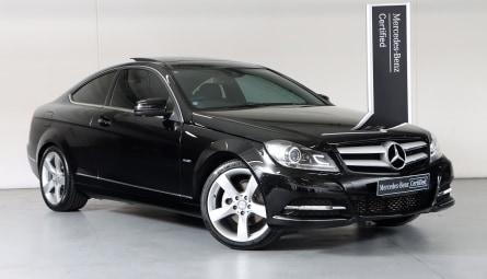 2011  Mercedes-Benz C-Class C250 Blueefficiency Coupe