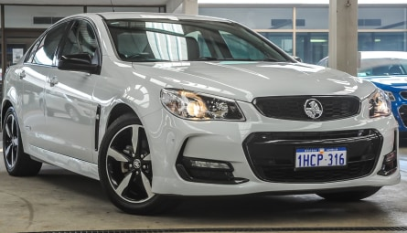 2016 Holden Commodore SV6 Black Sedan