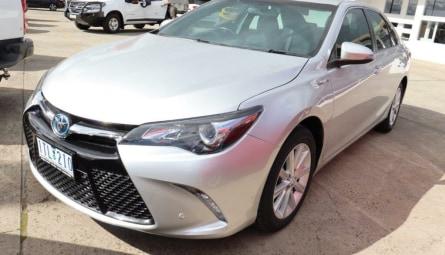 2017  Toyota Camry Altise Sedan