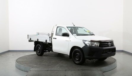 2019  Toyota Hilux Workmate Cab Chassis Single Cab