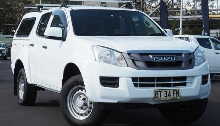 2012  Isuzu D-MAX Sx High Ride Utility Dual Cab