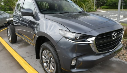 2020 Mazda BT-50 XT Cab Chassis Freestyle