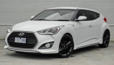 2015 Hyundai Veloster SR Turbo Coupe