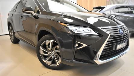2019 Lexus RX RX450h Sports Luxury Wagon