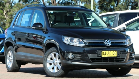2013  Volkswagen Tiguan 132tsi Pacific Wagon
