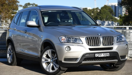 2013  BMW X3 Xdrive30d Wagon