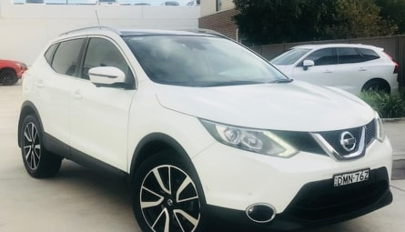 2017 Nissan Qashqai Ti Wagon
