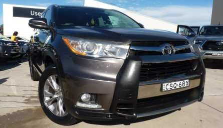 2014  Toyota Kluger Gxl Wagon