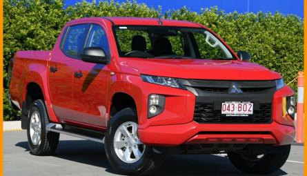 2018  Mitsubishi Triton Glx+ Utility Double Cab