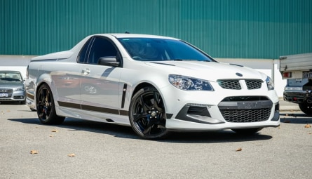 2016 Holden Special Vehicles Maloo R8 SV Black Utility Extended Cab