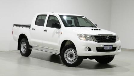 2014  Toyota Hilux Sr Utility Double Cab