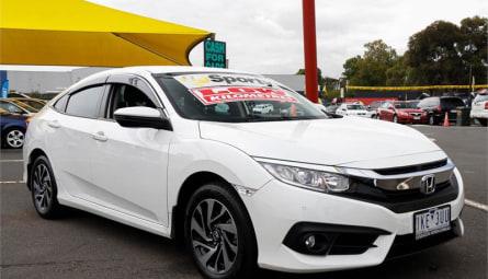 2017 Honda Civic VTi-S Hatchback