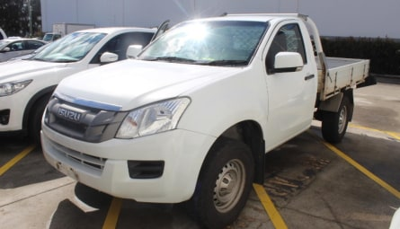 2015 Isuzu D-MAX SX High Ride Cab Chassis Single Cab