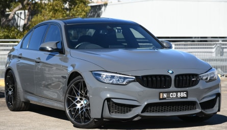 2018  BMW M3 Competition Sedan