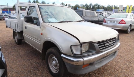 1996  Holden Rodeo Dx Cab Chassis Single Cab