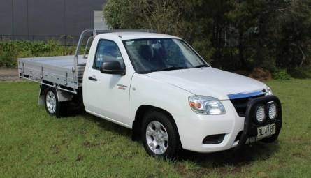 2011 Mazda BT-50 DX Cab Chassis Single Cab