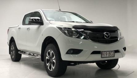 2016  Mazda BT-50 Xtr Utility Dual Cab