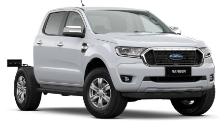 2021  Ford Ranger Xlt Cab Chassis Double Cab