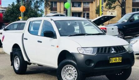 2007  Mitsubishi Triton Glx Utility Double Cab