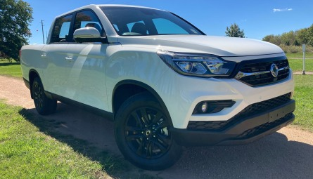 2020  SsangYong Musso Ultimate Utility Crew Cab