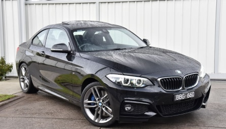 2018  BMW 2 Series 230i M Sport Coupe