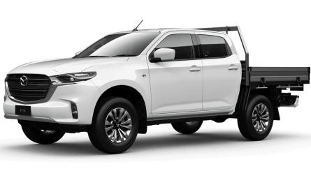 2020 Mazda BT-50 XT Cab Chassis Dual Cab