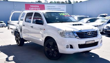 2012  Toyota Hilux Sr Utility Double Cab