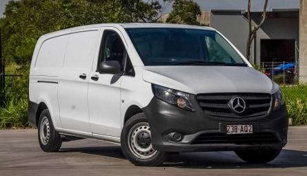 2018 Mercedes-Benz Vito 114BlueTEC Van Crew Cab