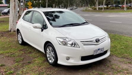 2011 Toyota Corolla Ascent Sport Hatchback