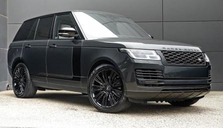 2020 Land Rover Range Rover D350 Westminster Black Wagon