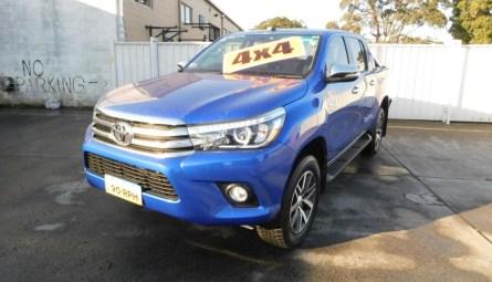 2016 Toyota Hilux SR5 Utility Extra Cab