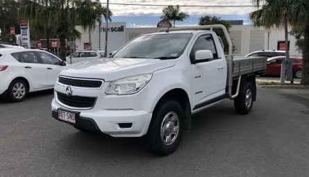 2012  Holden Colorado Lx Cab Chassis Single Cab